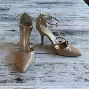 CHINESE LAUNDRY | Nude strappy heels